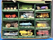 VINTAGE COLLECTOR'S MINIATURE (12-VEHICLE) SERIES, HAND PAINTED FROM JAPAN
