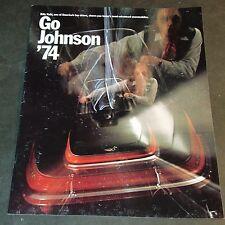 1974 JOHNSON SNOWMOBILE SALES BROCHURE 16 PAGE ++  (803