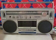 Toshiba RT-130S Boombox Ghetto-Blaster Radio Cassette Stereo 80's Japan Read +