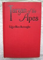 TARZAN of the Apes * VERY FINE HC, Early GROSSET & DUNLAP by Edgar Rice Buroughs
