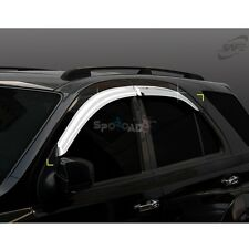 K-639 Car Chrome Window Sun Visor Cover Molding for Kia Sorento 2003-2008