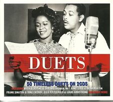 DUETS - 50 TIMELESS DUETS - 2 CD BOX SET - NAT KING COLE & DEAM MARTIN & MORE