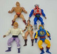 Vintage Mattel MOTU HE-MAN Lot Of 5 Figures