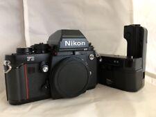[Exc+] Nikon F3HP 35mm SLR Film Camera BODY & MD-4 Motor Drive•Beautiful & Works