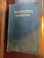 RARE 5th Edition Machinery's Handbook 1920 Leather Industrial Press VG Condition