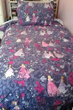 Twin duvet cover and Sham pottery barn princess dark purple girls