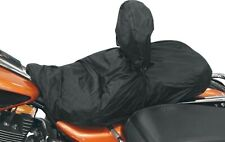 Mustang Seat Rain Cover with Driver Backrest for Harley & Universal Motorcycles