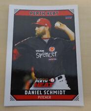Daniel Schmidt 2018/19 Australian Baseball League card - Perth Heat