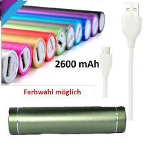 Power Bank Akku 2600 mAh USB  Zusatzakku Ladegerät Universal Handy iPhone Galaxy