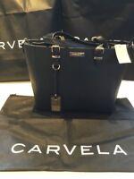 Carvela Kurt Geiger Designer Winged Tote Bag Black