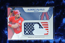 2017 TOPPS SERIES 2 PATCH CARD ALBERT PUJOLS ANGELS
