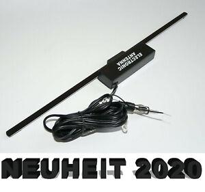 Scheibenantenne Radio Antenne Autoradio Auto AM/FM TMC Klebeantenne Scheibe Typ3