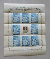 SLOVAKIA 1944 SHEETLET MNH** g/cy197