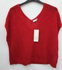 Ladies Super Soft Red Jumper Size 24