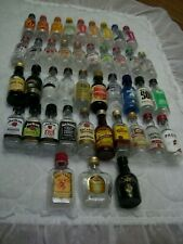 42 Different Empty 50 ML Plastic Mini Liquor Bottles/Whiskey/Vodka/Brandy/Rum..