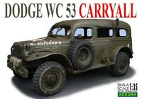 DODGE WC-53 CARRYALL MILITARY CAR 1/35 ACCURA ( RESIN KIT )