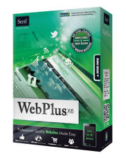 Serif WebPlus X6 (NEW, Easy to Use) Web Design Software Windows PC Website Maker