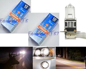 Sylvania Off Road H3 100W Two Bulbs Fog Light Rally High Watt Replace Upgrade OE