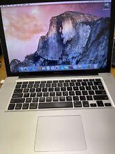 "Apple MacBook Pro A1286 15"" 2.2 GHz Intel i7 4GB 320GB HHD (Late 2011) AMD 6750M"
