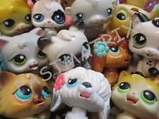 Littlest Pet Shop LPS Lot 3 RANDOM Magic Motion Dog Cat Bunny 100% Authentic