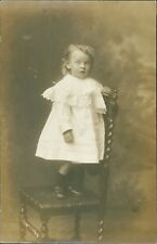 Birmingham. Young Girl Standing On Chair Hudson Studios      Ri.552