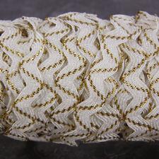 Passamanerie oro in cotone per l'hobby del cucito