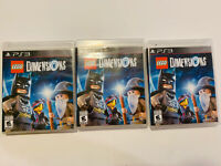 New LEGO Dimensions PS3 (Game Only)  (Sony PlayStation 3, 2015) 1 Copy Will Ship