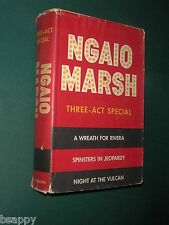 NGAIO MARSH 3 Mystery in 1 Wreath for Rivera Spinsters in Jeopardy Scotland Yard