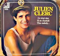++JULIEN CLERC ce n'est rien/si on chantait/this melody COFFRET 2LP'S 1985 VG++