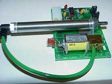 Bimba SPRING-LOADED PUSHER CYLINDER & CONTROL SOLENOID on PC BOARD