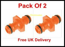 1/2 inch Hose Quick Connector Garden Hose Pack Of  2 Connectors Male To  Male