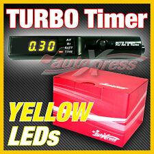 JDM TURBO Timer BLACK PEN Control Luminous Digit YELLOW LEDs NEW Apexi-Style