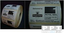 1000 Royal Mail PPI Labels & Return Address On Roll PPI-01-ROLL 70x40 1st 2nd