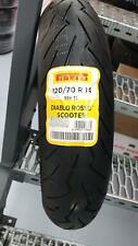 Pneumatici gomme tyre Moto 120/70 R14 (55H) DOT2017 Pirelli Diablo Rosso Scooter