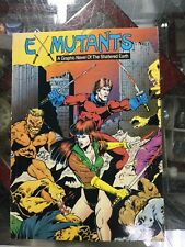 1988 Ex-Mutants Volume 1 TPB Eternity Comics