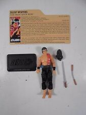 COMPLETE GI JOE 25th DVD BATTLES QUICK KICK ACTION FIGURE 2008 HASBRO FILE CARD