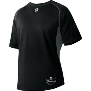 DeMarini Men's Game Day Short Sleeve Shirt BLACK SM