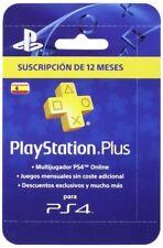 Sony tarjeta PSN Plus para 365 Días Reedición (ps4)