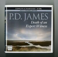 Death of an Expert Witness: by P. D. James - Unabridged Audiobook - 8CDs