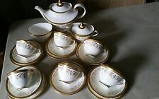Vintage 1960's Royal Doulton Belmont Pattern H4991 -  21 piece tea set