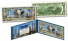 WORLD TRADE CENTER * Then & Now *  9/11 WTC $2 Bill NEVER FORGET