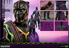 (ES) HOT TOYS 1/6 MARVEL BLACK PANTHER MMS487 T'CHAKA ACTION FIGURE
