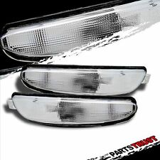99-04 Chrysler 300M Crystal Front Bumper Parking Lights Chrome Lamps 00 01 02