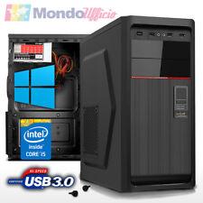 PC Intel i5 7500 3,40 Ghz - Ram 16 GB - SSD 240 GB - HD 2 TB - Windows 10 Pro