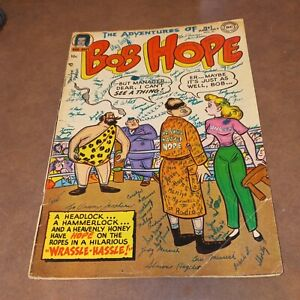 Adventures of Bob Hope 21 Golden age 1953 dc comics teen humor movie star comedy