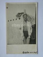 GRADO 1935 Gorizia vecchia cartolina fotografica foto