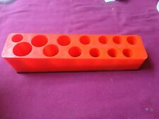 Dale's Fund Raiser magnetic deep well socket organizer each excellent cond