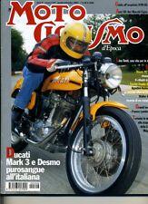 R- RIVISTA MOTOCICLISMO D'EPOCA + MOTO STORICHE OFFERTA ----- 1999- B- ZCS706