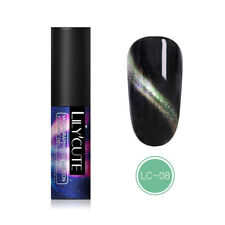 LILYCUTE Holographic Magnetic Gel Polish Soak Off Nail Art UV Gel Varnish LC-08