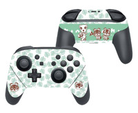 Animal Crossing Sticker For Nintendo Switch Pro Controller Skin Decal - Leaf